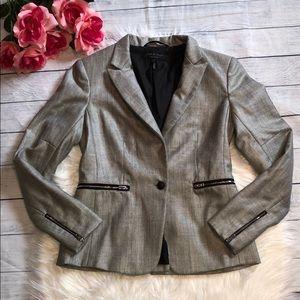 Rag & Bone Gray Wool Blend Blazer